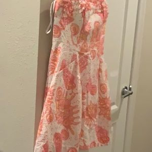 NWT Lilly Pulitzer strapless dress[[